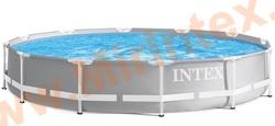 INTEX Бассейн каркасный круглый Intex 366х76 см