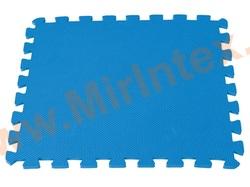 INTEX 29081 Подстилка-пазл для бассейна, модульная, 50 х 50 х 0,8 см, 8 деталей.