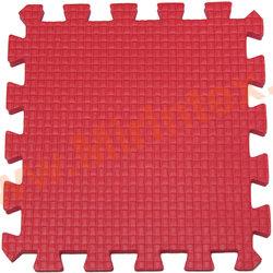 """Будо-мат """"С креплением ласточкин хвост"""" 50х50х1см (Красный)"""