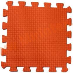 "Будо-мат ""С креплением ласточкин хвост"" 50х50х1см (Оранжевый)"