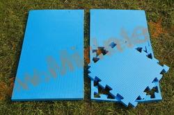 """Будо-мат """"с креплением ласточкин хвост"""" 50х50смх2,0см (Голубой)"""