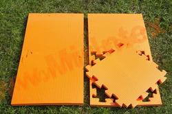 "Будо-мат ""С креплением ласточкин хвост"" 50х50х2,0см (Оранжевый)"