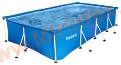 Bestway Бассейн каркасный прямоугольный 400х211х81 см