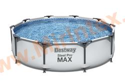 Bestway 56408 Каркасный бассейн Steel Pro Max 3.05х0.76см (фильтр-насос 1.249л/ч)