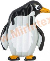 INTEX 58151 Надувной плотик Пингвин 114х94 см с держателями, от 6 лет.(без насоса)