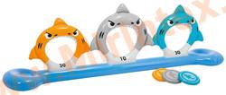 "INTEX Надувные кольца для метания тарелок ""Акулы"""