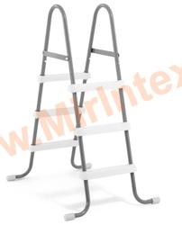 INTEX 28064 Лестница для надувных и каркасных бассейнов с высотой борта 91 см.