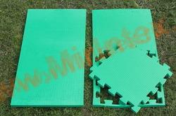 """Будо-мат """"С креплением ласточкин хвост"""" 50х50х2,0см (Зелёный)"""