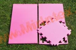 """Будо-мат """"С креплением ласточкин хвост"""" 50х50х2,0 см (Розовый)"""