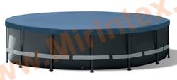 INTEX 10754 Тент для каркасных бассейнов Round Pool Cover диаметр 488 см.