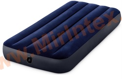 Надувные матрасы INTEX Classic Downy Airbed 76х191х25 см