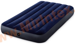 Надувные матрасы INTEX Classic Downy Airbed 99х191х25 см
