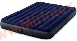 Надувные матрасы INTEX Classic Downy Airbed 152х203х25 см