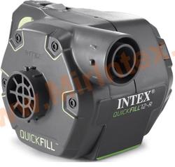 INTEX 66642 Насос электрический/автомобильный, 3 насадки.