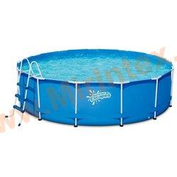 Summer Escapes Бассейн каркасный круглый 457х122 см (лестница, тент, настил)