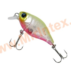 Jackall Воблер Chubby 38F CLEAR CHARTREUSE TIGER