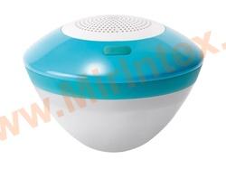 INTEX Плавающая Bluetooth-колонка с Led-подсветкой