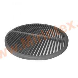 Апекс Решетка-гриль чугунная крулая для костра 400 мм на треноге 340 мм(разборная)