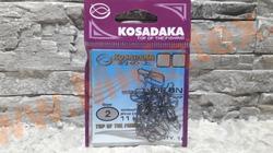 Kosadaka Карабин-застежка «Nice snap» #2 (тест 11kg)16 шт.