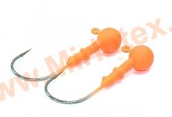 Kosadaka Джиг-головка вольфрам 3.5 г. №1/0 orange(2 шт.)