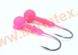 Kosadaka Джиг-головка вольфрам 3.5 г. №1/0 pink (2 шт.)
