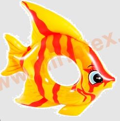 INTEX Круг Tropical Fish 94х80 см (жёлтый)