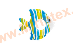 INTEX Круг Tropical Fish 94х80 см (синий)