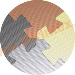 """""""ЭкоПром"""" Модульное покрытие для залов аэробики и йоги 1000х1000х20мм(черный)"""