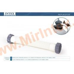 INTEX Шланг для фильтра-насоса с гайками, ф 38 мм, длина 36 см