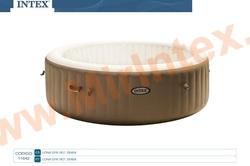 INTEX 11842 Чаша для надувного СПА-бассейна Bubble Massage 145/196х71см, 28404