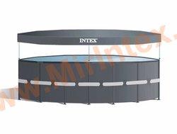 INTEX Тент для каркасных бассейнов Round Pool Cover 732 см.
