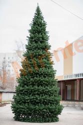 Ель искусственная, уличная, каркасная «Уральская» 25 м.