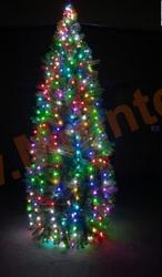 Комплект освещения «Цветной каскад» 6 м.