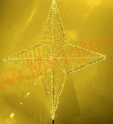 Макушка для уличной ели «Полярная звезда» 1.5 м.