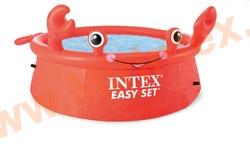 INTEX Бассейн надувной 183х51 см (Краб) crab easy set