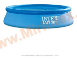 INTEX Бассейн надувной 244х61 см ( с картриджным фильтр-насосом 1250л/ч) EASY SET® POOLS