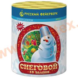 """Русский фейерверк Фейерверк Снеговой (0,8"""" х 10"""