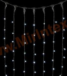 Гирлянда занавес штора уличная 3х3 м 400 LED (цв.холодный)