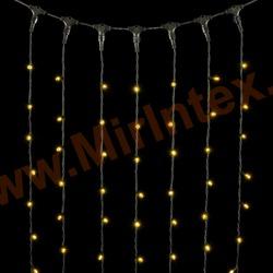 Гирлянда занавес штора уличная 3х3 м 400 led (цв.теплый)