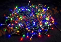 Гирлянда нить светодиодная 30 м. 210 ламп (цветная)
