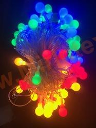 Гирлянда шарики 15 мм (10 м/72 шт. ) цветная
