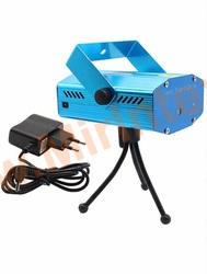Лазерный проектор мини Laser Stage Lighting mini
