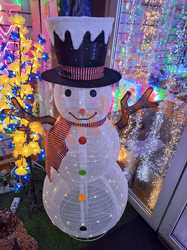 Фигура Снеговик светодиодная 150 см