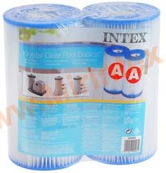 INTEX 29002 Фильтр картридж, тип «А», 2 штуки.
