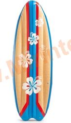 """INTEX 58152 Матрас надувной плавательный, доска для сёрфинга """"Лови волну"""" 178х69 см"""
