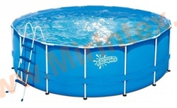Summer Escapes Р20-1042-Z Каркасный бассейн 305х106 см, лестница, подстилка, тент.