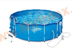 Summer Escapes Р20-1248-В Каркасный бассейн 366х122 ( фильтр насос, лестница, тент, подстилка, набор для чистки, скиммер)
