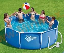 Summer Escapes Р20-0830-А Каркасный бассейн 244х76 см (картриджный фильтр-насос 1250 л/ч 220В)