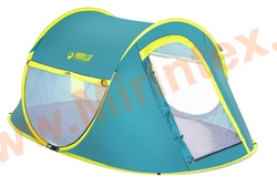 "Bestway 68086 Палатка 2-местная 235x145х100см ""Coolmount 2"" 1 слой, 190Т polyester PU, 2000мм, 120гр/м2 PE."