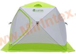 Палатка для зимней рыбалки LOTOS Куб Профессионал М 210х210х180 см